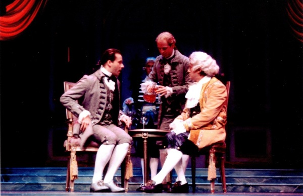 Geoff Fiorito, actor, stage, play, Amadeus