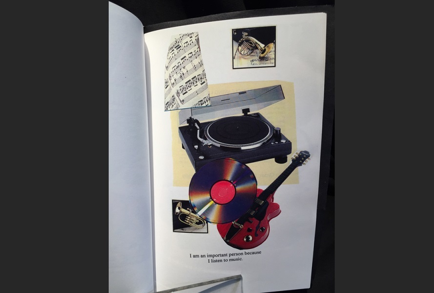 art, book, handmade, Geoff Fiorito, Jeff Fiorito, I Am An Important Person Because